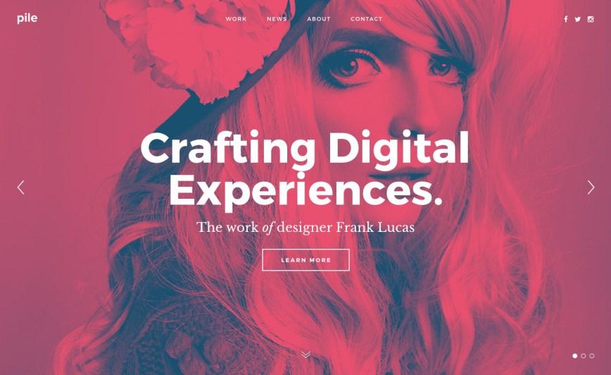 Tailored Portfolio layouts of 2016
