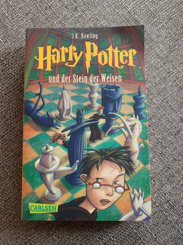 German Harry Potter book