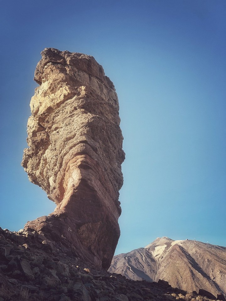 Stunning rock formations in the Teide National Park