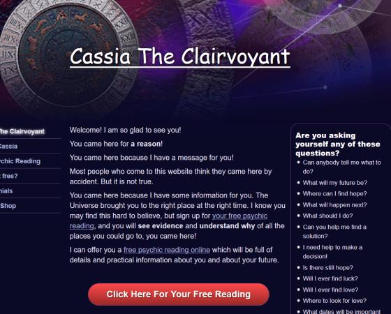 www.cassiaclairvoyant.com