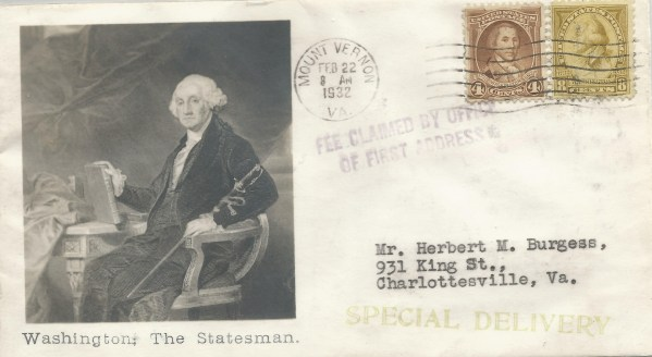 Washington, The Statesman
