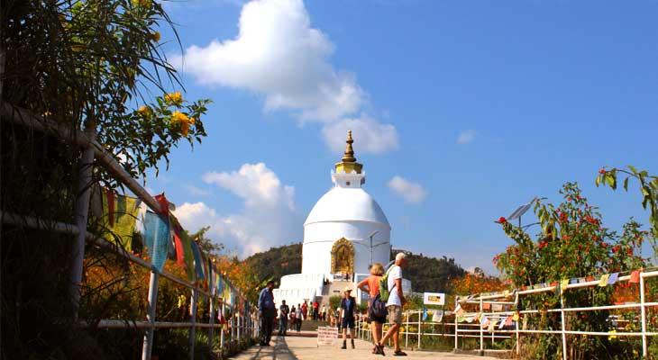 World peace pagoda Shanti Stupa