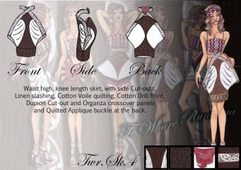Te Whare Runanga - Skirt 4