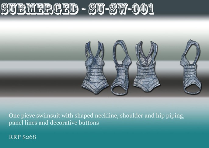 Submerged - Swimsuit 1