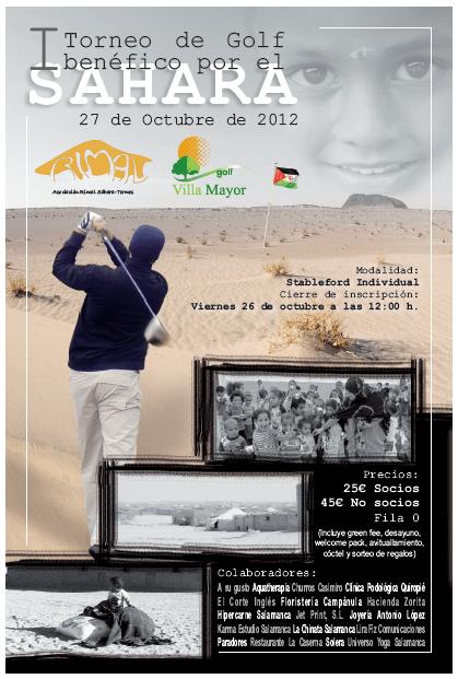I Torneo de Golf benéfico por el Sáhara en Villamayor (Salamanca)