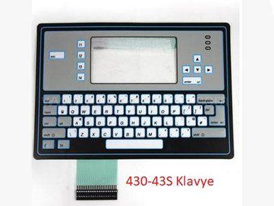 430 43S Klavye