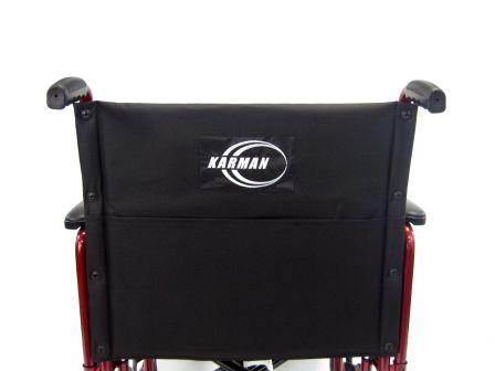 T 920W BACKREST transport wheelchair / barriatric wheelchair