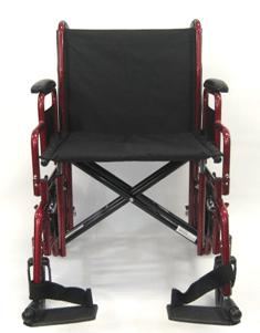 T 920W FRONT transport wheelchair / barriatric wheelchair