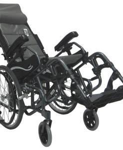VIP515 Tilt-in-space wheelchair as shown tilting