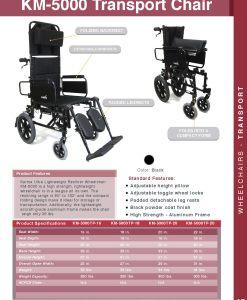 fullcatalog2013 km5000tp lightweight reclining wheelchair