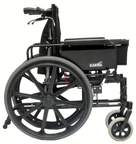 km5000f18 13 lightweight reclining wheelchair
