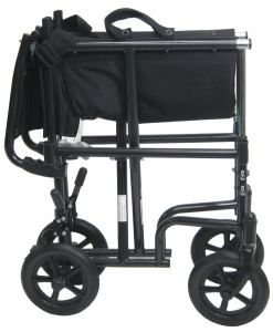 t 2700foldxl transport wheelchair with detachable arms