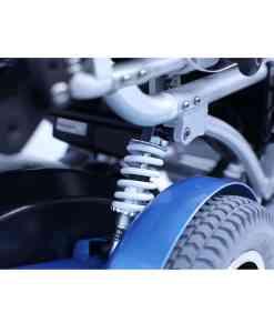 xo 505 luxury z shocks XO-505 Standing Wheelchair