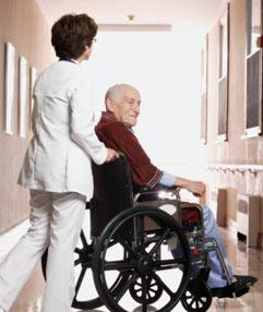 propelling-pushing-wheelchair