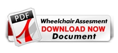 wheelchair assesment document download