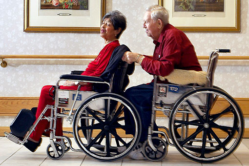 Wheelchairs for old people