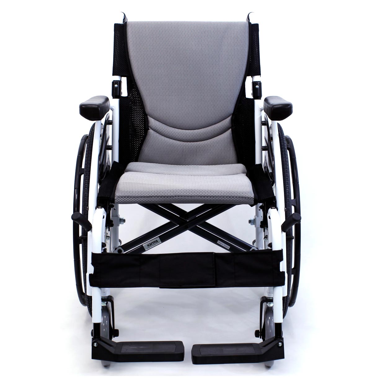 s 115 alpine white wheelchair