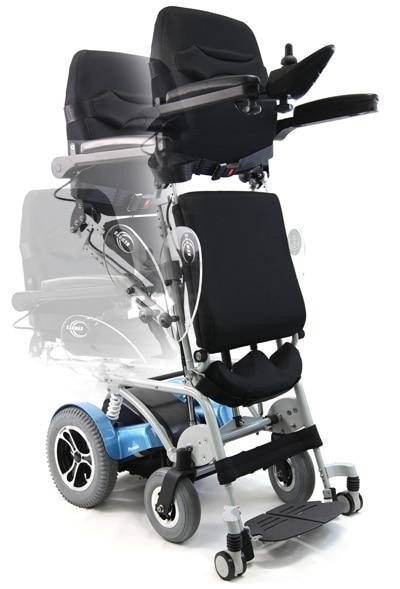 jay leno xo 202 opt XO-202 power standing wheelchair