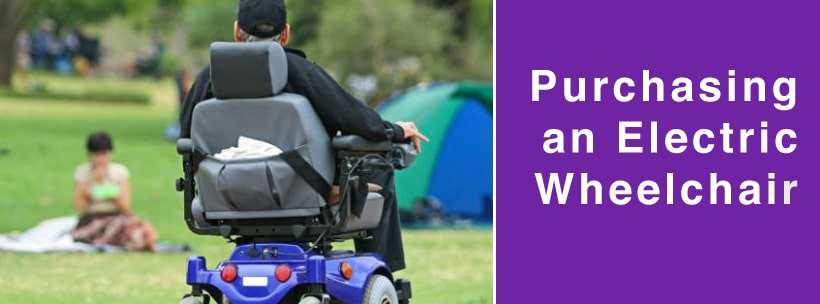keys to purchasing an electric wheelchair