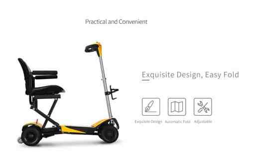 volare power scooter design