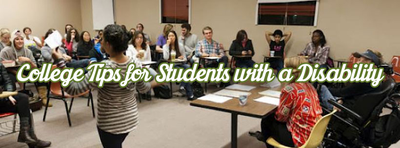 college tips for students with a disability