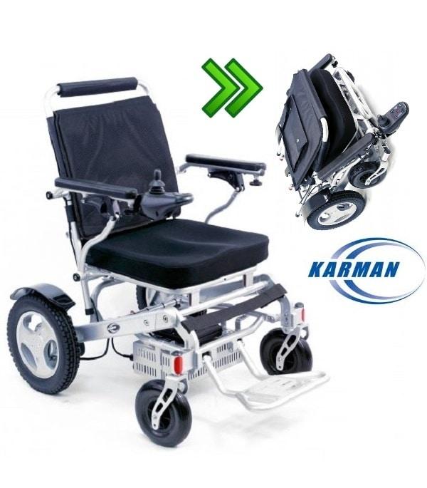 foldable power wheelchari
