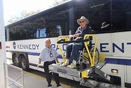 ergo flight wheelchair with bus ramp