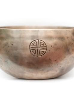 Singing Bowl Mantra Decorated