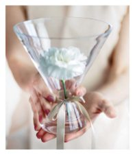 cellophane Bouquet vaseby Karm en Saat.