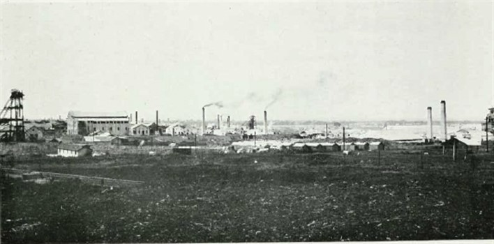 Kolar Gold Fields. Photographer Edgar Thurston - Thurston, Edgar (1913)