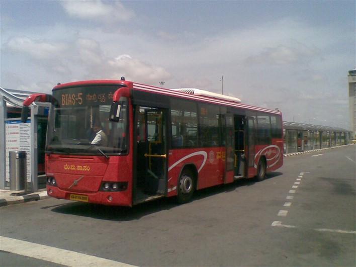 Volvo bus to Bangalore International Airport