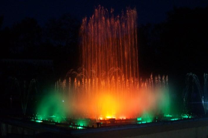 Musical fountains at Brindavan Gardens. Copyright karnataka.com