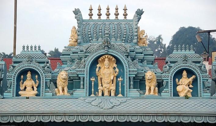 Horanadu Annapoorneshwari Temple Main Gopra