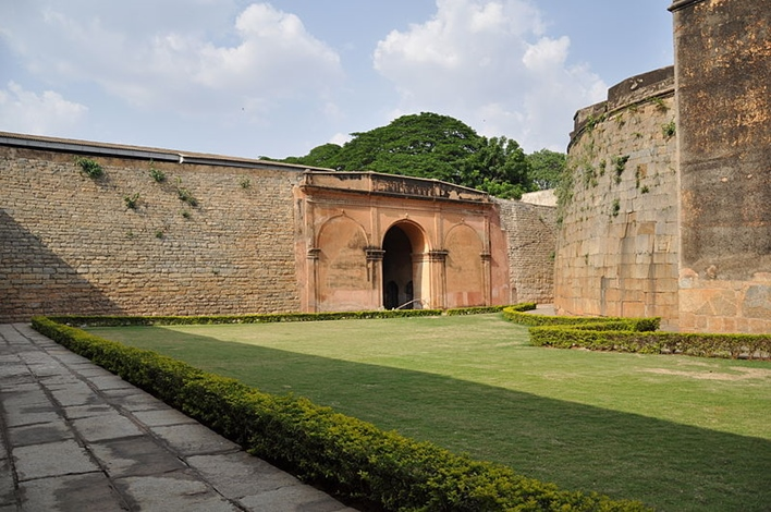 Bangalore fort, tipus's fort