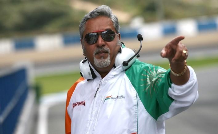 Dr. Vijay Mallya. Image source indianf1