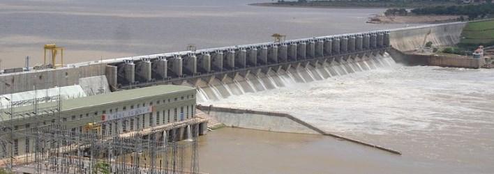 Almati dam, Bijapur. Source Wikipedia