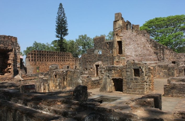 Ruins of Rani Chennamma of Kittur fort, Belgaum