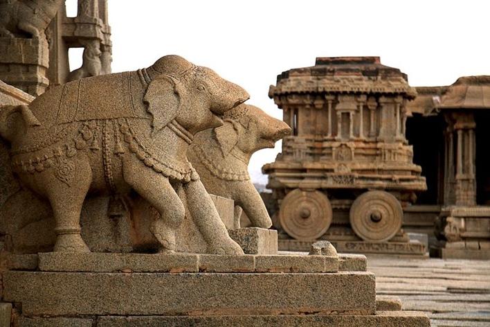 Karnataka Tourism, Stone chariot, Hampi Sightseeing