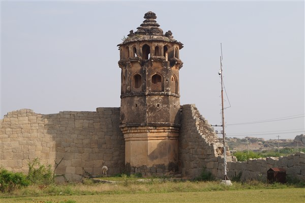 Watch Tower, Lotus Mahal, Hampi. Copyright Karnataka.com