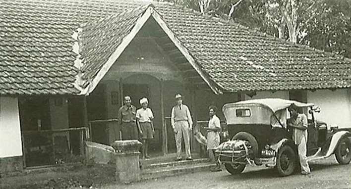 A photo from the 19th Century @ Tata Plantation Trails, Coorg