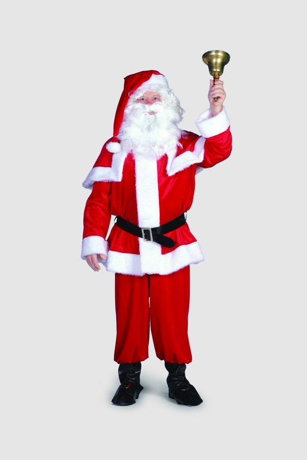 Nikolaus XXL Weihnachtsmannkostüm Heiligabend Nikolausabend