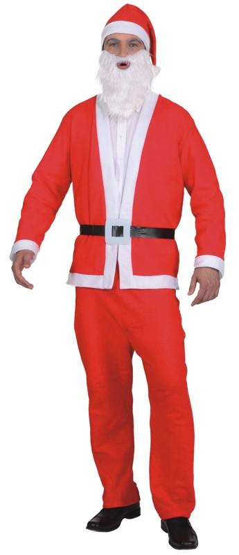 Santa Claus Weihnachtsmannkostüm Weihnachten XXL Nikolaus