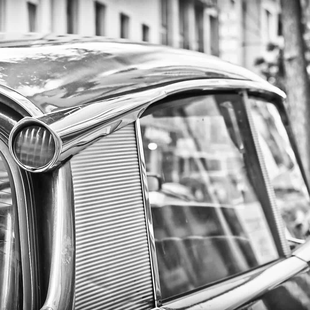 Citroën DS, Verglasung und Aufbereitung von Oldtimern