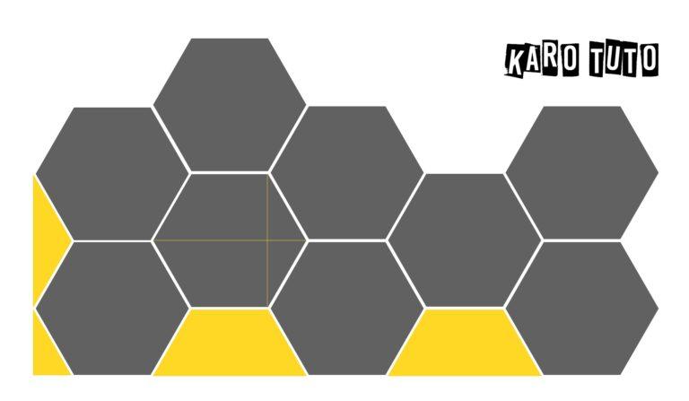 credence en carrelage hexagonal karotuto