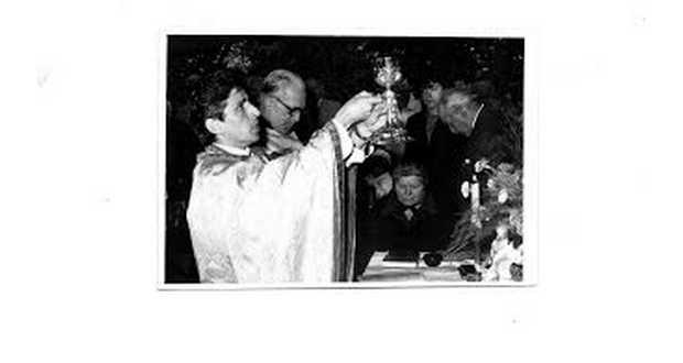 Szent liturgián Ortutay Elemérrel