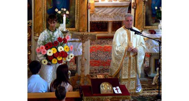Szabó Konstantin ezüstmiséje Beregdédában