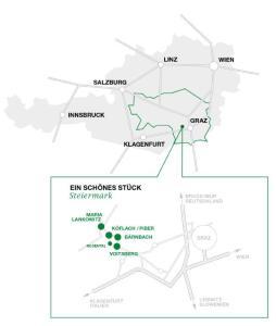 Verkehrsspinne Österreich und Lipizzanerheimatdetail