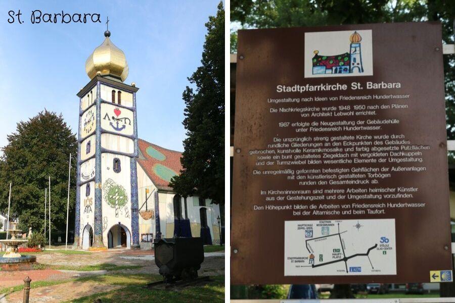 St. Barbara Kirche Bärnbach