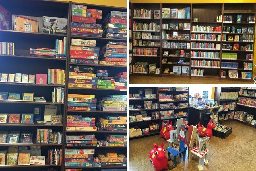 Kinderbereich in der Bibliothek