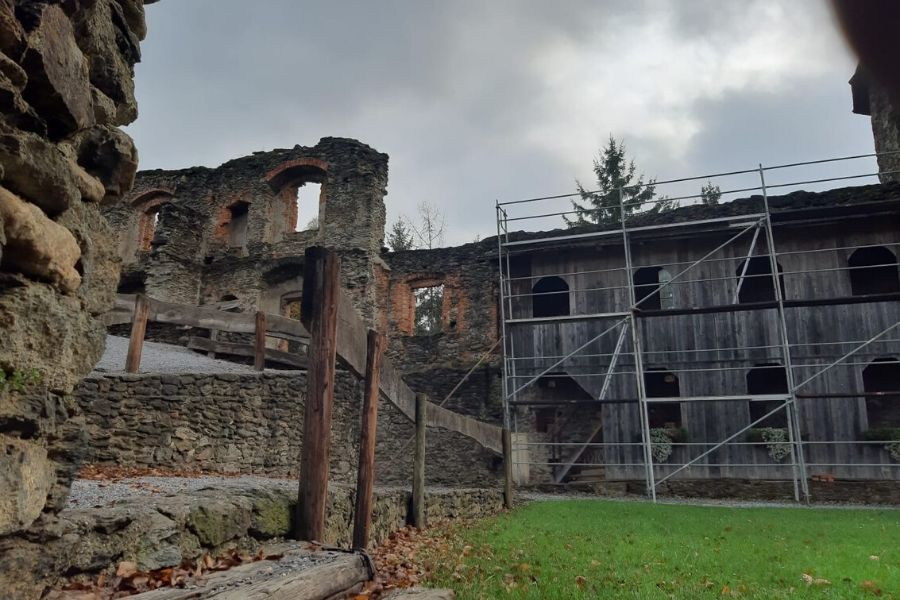 Burgrunie Krems im Bezirk Voitsberg - Ausflugsziel für die ganze Familie